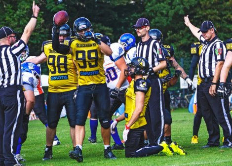 Münster Blackhawks Bocholt Rhinos Football