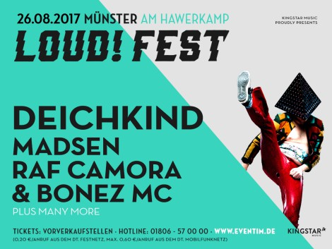 LOUD! Festival 2017 Münster
