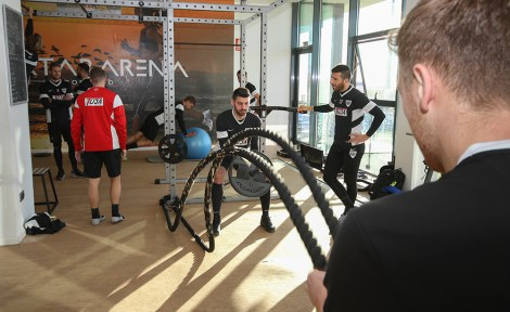 SC Preußen Münster Trainingslager Fitness