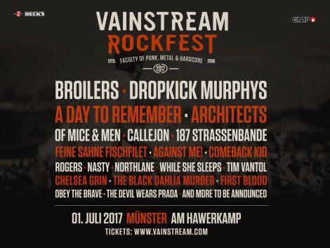 Vainstream Rockfest Line Up 2017