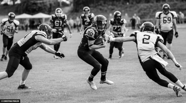 Münster Blackhawks Duisburg Thunderbirds American Football Oberliga
